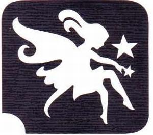 Glitter Tattoo FAIRY STAR elfje