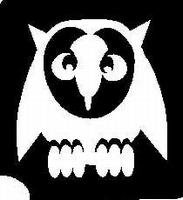 Glitter Tattoo OWL uil