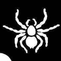Glitter Tattoo HALLOWEEN SPIDER 2 spin