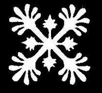 Glitter Tattoo SNOWFLAKE FANCY sneeuwvlok