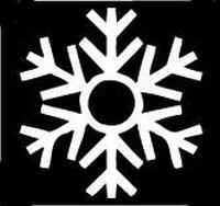 Glitter Tattoo SNOWFLAKE sneeuwvlok