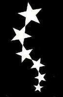 Glitter Tattoo STARS STREAM sterren reeks
