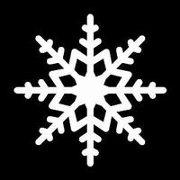 Glitter Tattoo SNOWFLAKE 2 sneeuwvlok