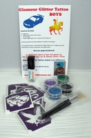 Glitter Tattoo Set BOYS