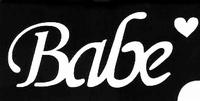 Glitter Tattoo BABE