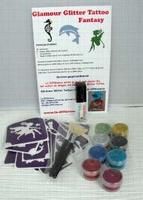 Glitter Tattoo Set FANTASY