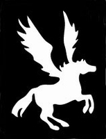 Glitter Tattoo UNICORN WINGS eenhoorn