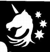 Glitter Tattoo UNICORN STARS eenhoorn sterren