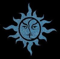 Glitter Tattoo SUN FANCY zon sierlijk