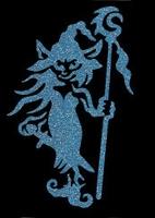 Glitter Tattoo DWARF SWORD dwerg zwaard