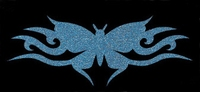 Glitter Tattoo BUTTERFLY NEW vlinder