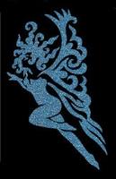 Glitter Tattoo FAIRY FANCY elf elfje sierlijk