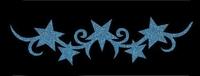 Glitter Tattoo BRACELET STARS sterren