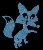Glitter Tattoo FOX 3 vos