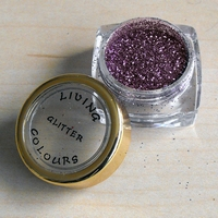 GLITTER make up Paars Zilver