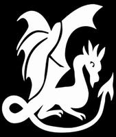 Glitter Tattoo DRAGON WINGS draak vleugels