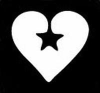 Glitter Tattoo HEART CROSS hart kruisje
