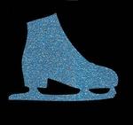 Glitter Tattoo ICESKATESHOE schaats