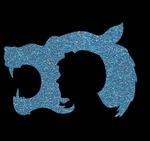 Glitter Tattoo WOLF