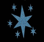 Glitter Tattoo STAR LITTLE STARS sterren