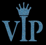 Glitter Tattoo VIP very important princess (person)
