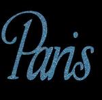 Glitter Tattoo PARIS Parijs