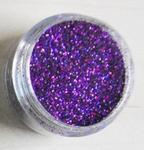 Glitter laser paars
