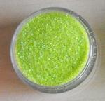 Glitter Iridescent groen (zeer licht) Creme de Mint