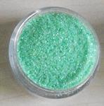 Glitter Iridescent Green Vintage