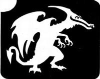 GlitterTattoo DRAGON draak