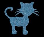 Glitter Tattoo CAT poes kat
