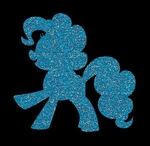 Glitter Tattoo HORSE CUTE Shadow paard