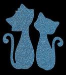 Glitter Tattoo KITTEN katten katjes