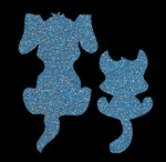 Glitter Tattoo DOG CAT hond kat