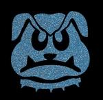 Glitter Tattoo BULLDOG hond