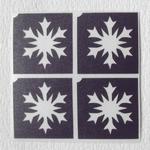 Glitter Tattoo frozen 2 snowflake minidesign