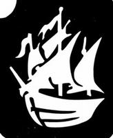 GlitterTattoo PIRATES SHIP piratenschip