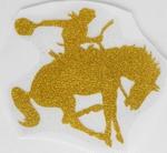 Strijkapplicatie cowboy horse paard