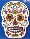 Strijkapplicatie skul nr1 sugar skull