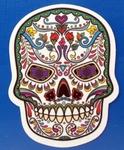 Strijkapplicatie skul nr5 sugar skull