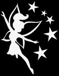 Glitter Tattoo fairy stars fee sterren