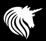 Glitter Tattoo unicorn eenhoorn