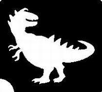 Glitter Tattoo DINO dinosaurus