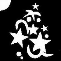 Glitter Tattoo STARS sterrenregen