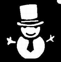 Glitter Tattoo SNOWMAN Sneeuwpop