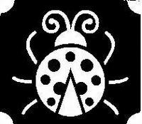 Glitter Tattoo LADYBUG 2 lieveheersbeestje