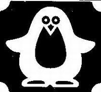 Glitter Tattoo PENGUIN pinguin