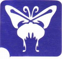 GlitterTattoo BUTTERFLY vlinder