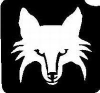 Glitter Tattoo FOX vos