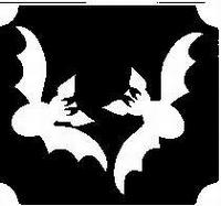 GlitterTattoo BATS vleermuizen